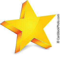 étoile or