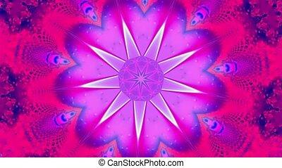 étoile pourpre, kaléidoscope
