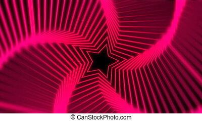 étoile, radiation, rouges, barbouillage