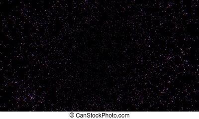 étoile, rayon, explosion, espace, lumière