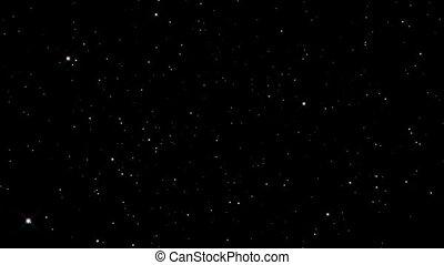 étoile, rayon, explosion espace, lumière