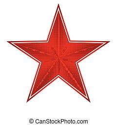 étoile, rouges