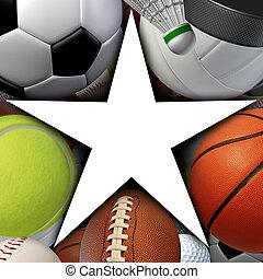 étoile, sports