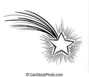 étoile, tir