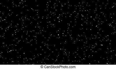 étoiles, éclater, hd, (loop)