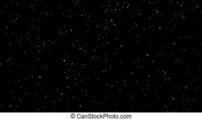 étoiles chute, briller