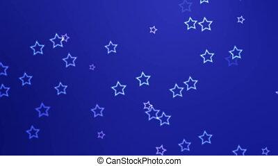 étoiles chute
