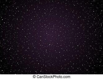 étoiles, fond, espace