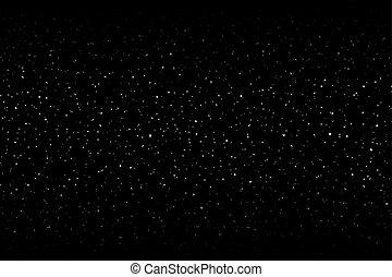 étoiles, fond, ligne