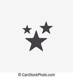 étoiles, icône