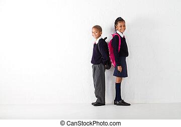 étudiants, élémentaire