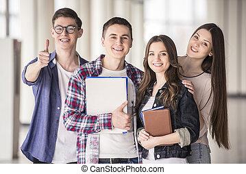 étudiants