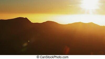 évalué, la, de, -, roque, version, palma, canyon, majestueux, muchachos, las, vue