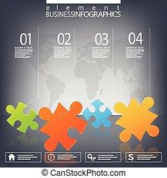 être, utilisé, réseau, diagramme, flot travail, options, moderne, text., nombre, disposition, diagramme, infographic, endroit, toile, gabarit, conception, ton, boîte