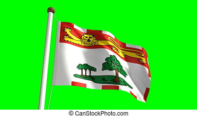 île, drapeau, edward, prince