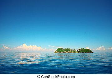 île, mer