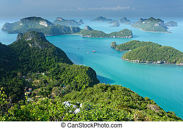îles, angthong, ko, thaïlande
