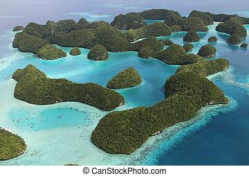 îles, palauan