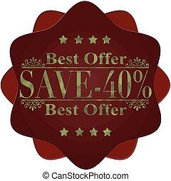 -40%, sauver, mieux, offre