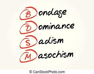 -, bdsm, fond, acronyme, concept