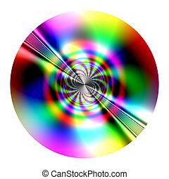 -, disque, fractal