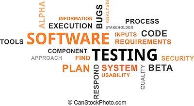 -, essai, logiciel, mot, nuage