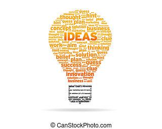 -, idées, mots