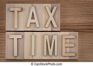 -, lettres, bois, temps, impôt, texte, blocs, vendange