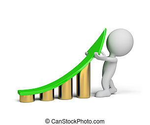 -, personne, amélioration, 3d, statistiques