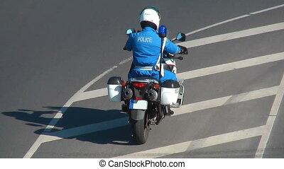 -, vélo, police, hd, 1080