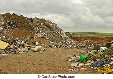 01, décharge ordures