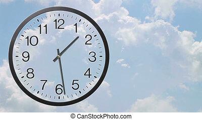 02, défaillance, temps, nuages, horloge