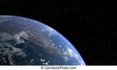 02, la terre, lune