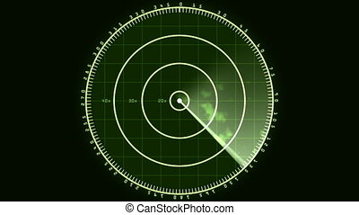 02, radar, affichage écran, (24fps)