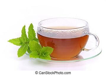 02, thé, menthe poivrée