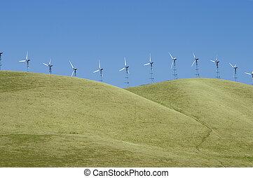1, éoliennes