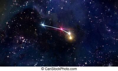 1, bélier, étoile, horoscope