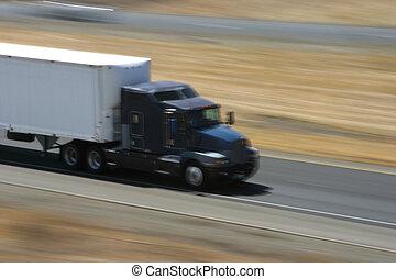 1, camion, expédier
