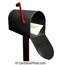 1, courrier, vous, avoir