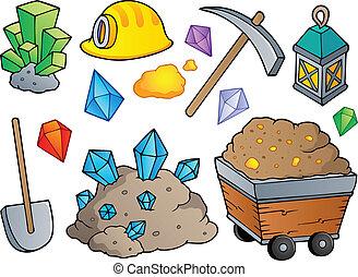 1, exploitation minière, thème, collection