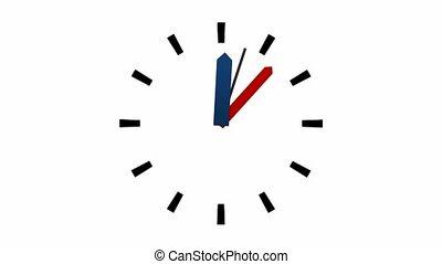 1, -, heure, horloge