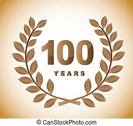 100, années