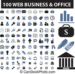 100, toile, business, signes