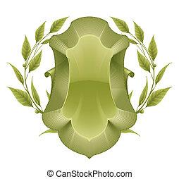 10eps, vert, cadre