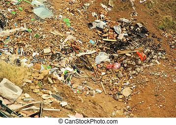 12, décharge ordures