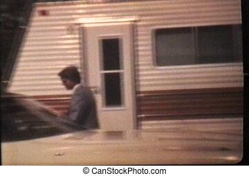 (1980), prom, homme, va, jeune