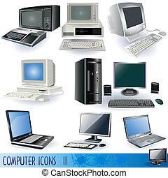2, icônes ordinateur