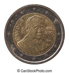 2, italie, monnaie, euro