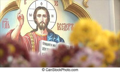 2, saint, icône