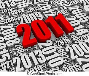 2011, annonce, année